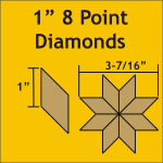 8 Point Diamonds