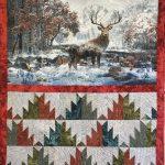 Deer Panel Quilt